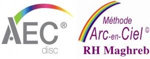 Logo DISC & Arc-en-Ciel RH Maghreb